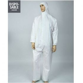 Protective Coverall White