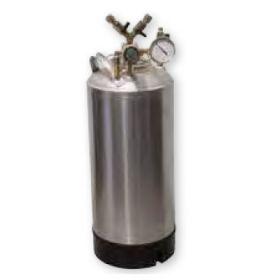 Pressure tank (stainless steel)